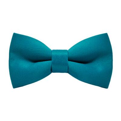 Kék színű gyermek csokornyakkendő - matt