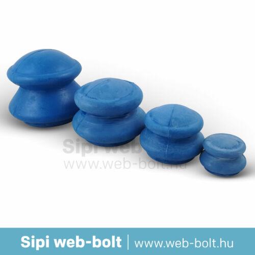Gumi köpöly (kék 4 db)