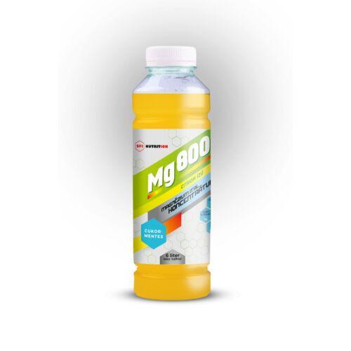 Mg 800 cukormentes magnézium koncentrátum citromos izű