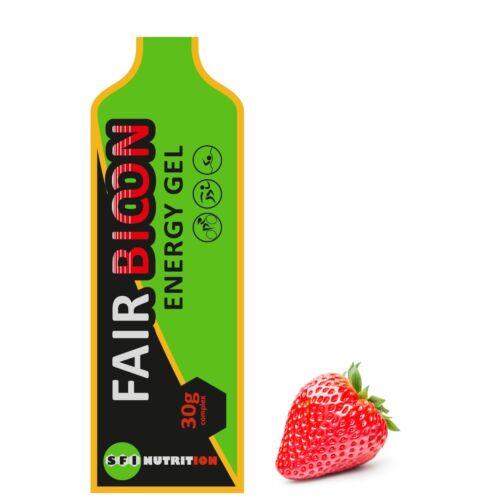 Fairbion energia gél eper ízű koffeines