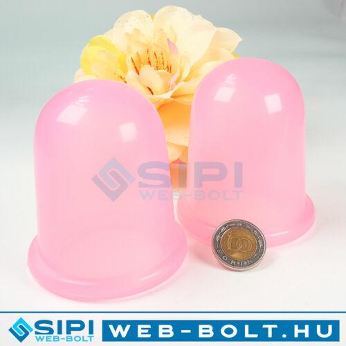 Anticellulitisz szilikon köpöly (2 db)
